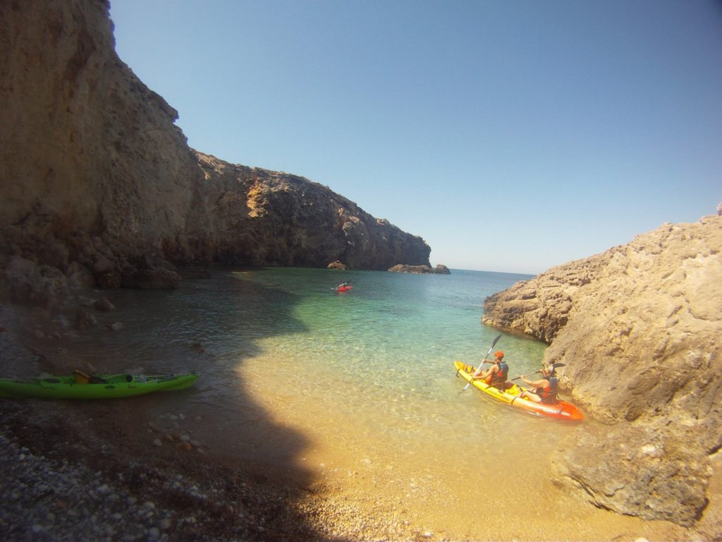 Fun Kayaks Ibiza fantastic guide tours