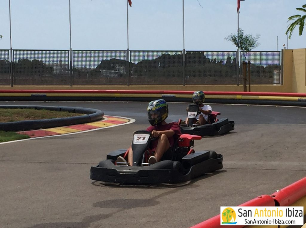 San Antonio Ibiza - Karting activity - race your friends