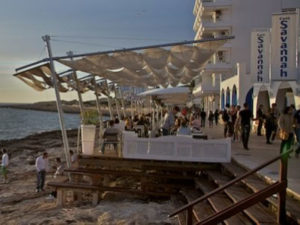Savannah Beach Club Restaurant San Antonio Ibiza